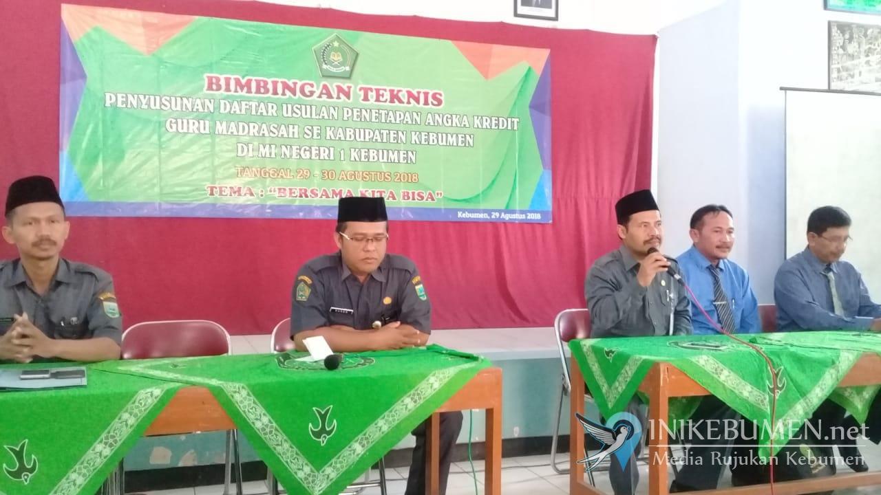 Guru Madrasah Diminta Semangat Mengajukan Kenaikan Pangkat