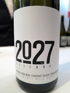 2027 Cellars Wismer Vineyard Fox Croft Block Riesling 2016 (89 pts)