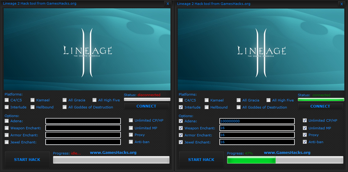 Lineage 2 Bot and Hack