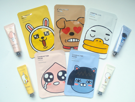 - - THE FACE SHOP + Kakao Friends Giveaway - -