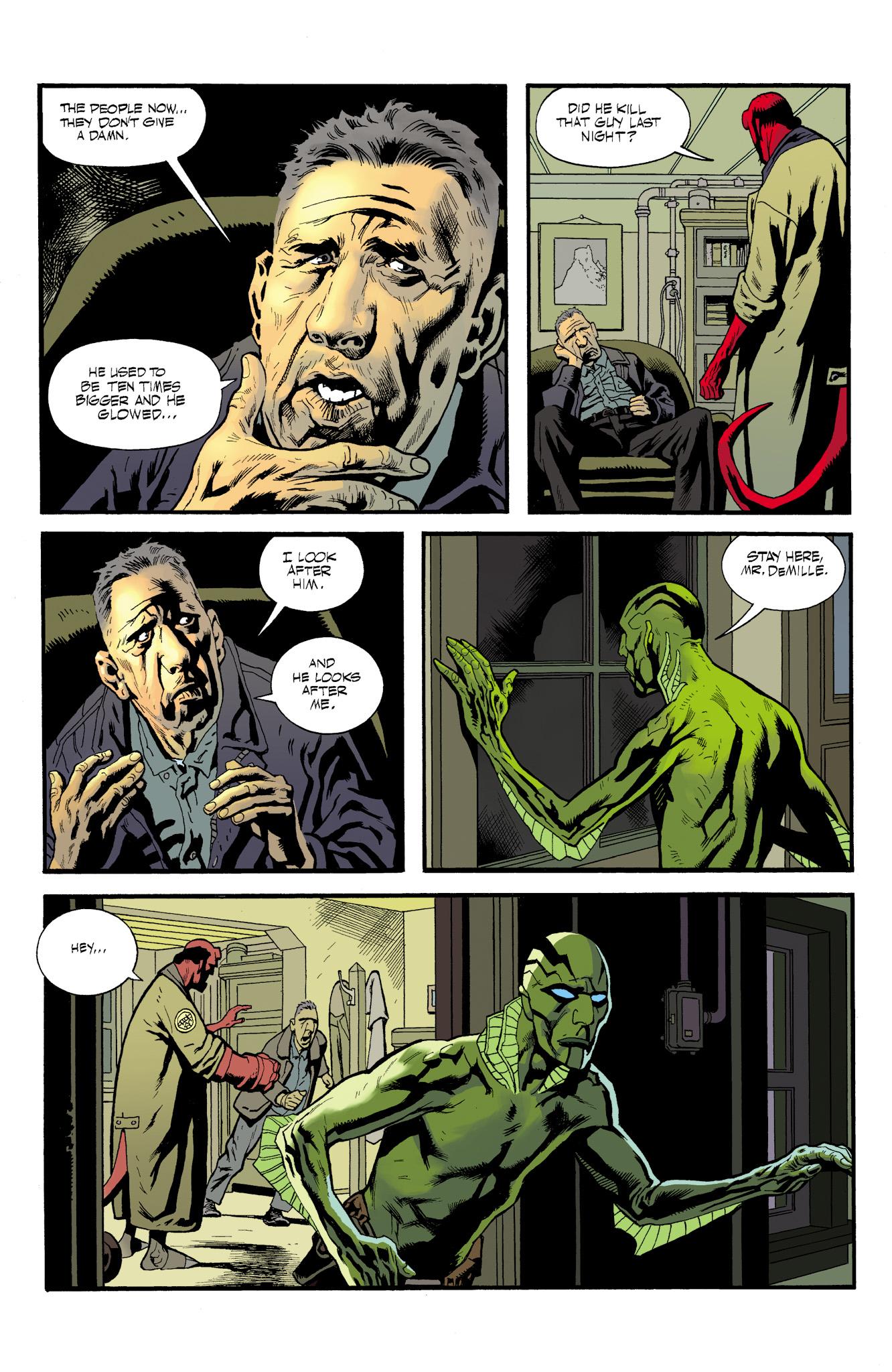 Read online Abe Sapien comic -  Issue #23 - 19