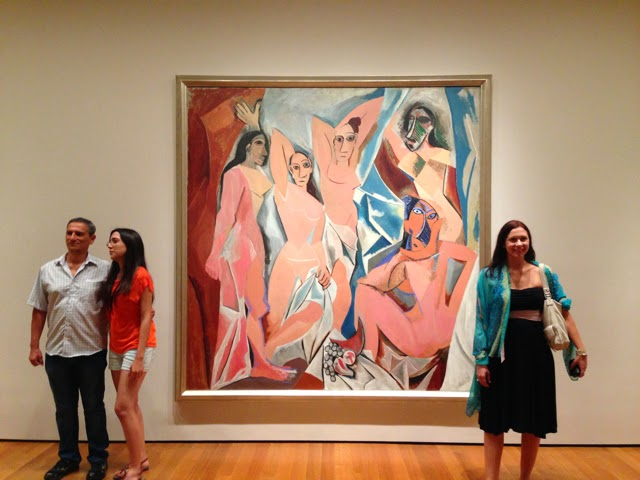 1000 Things In Nyc The Young Ladies Of Avignon By Pablo Picasso