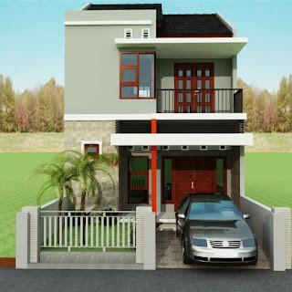 Minimalist house design, Modern 2-storey Type 36
