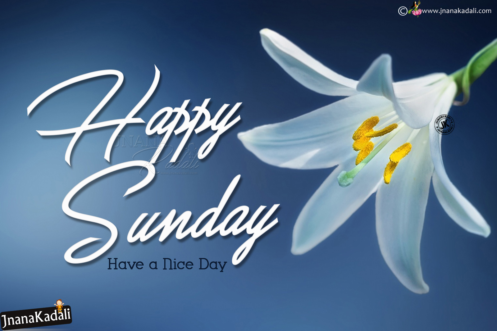 Happy Sunday Greetings With Hd Wallpapers In English English Happy