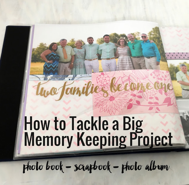 How to Start a Memory Keeping Project-Hot Wheels and Glue Guns