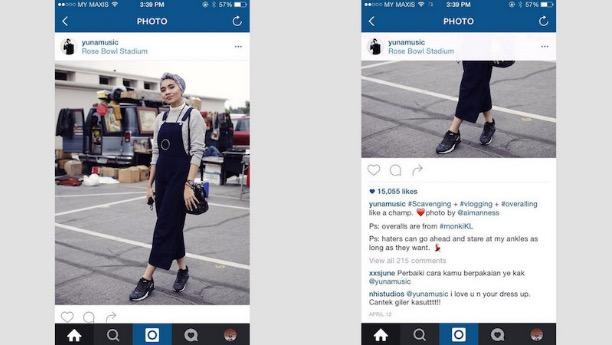 'Perbaiki Cara Kamu Berpakaian Ye Kak' - Teguran Seorang Gadis Kepada Yuna