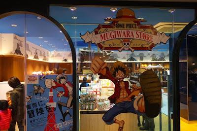 10D9N Spring Japan Trip: One Piece Mugiwara Store, Tokyo Tower