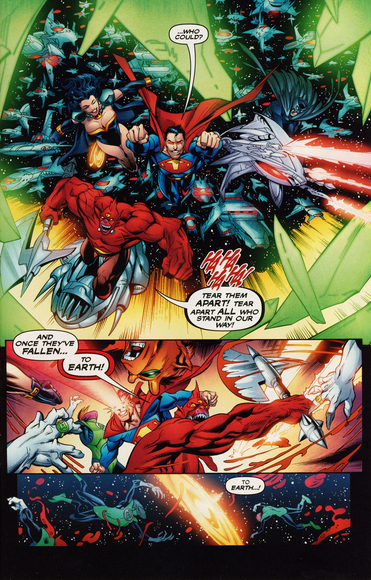 Read online Trinity (2008) comic -  Issue #40 - 5