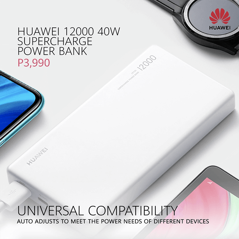 Huawei 12000 40W SuperCharge Power Bank arrives in PH for PHP 3,990