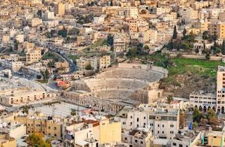 10. Teater Romawi di Amman
