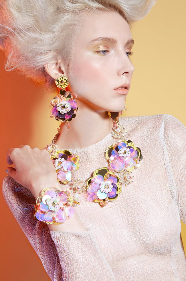 kanokkorn lamlert, acrylic jewellery, vogue who's on next