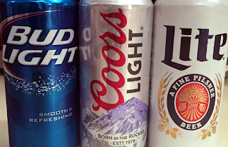 Bud Light vs Coors Light vs Miller Lite