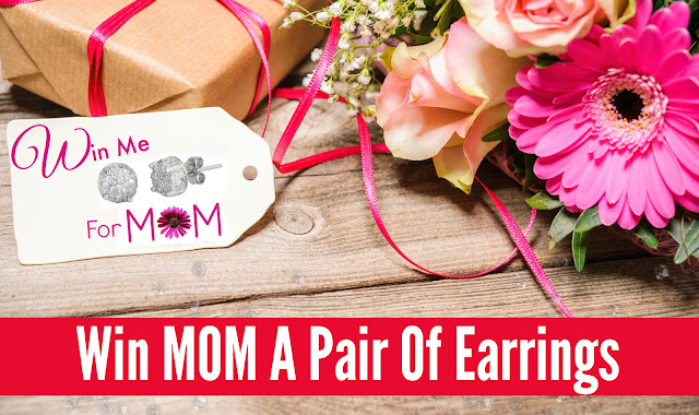 Mothers Day Giveaway, free earrings by barbies beauty bits