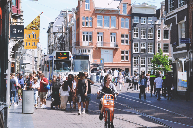 Amsterdam Leidseplein Tram