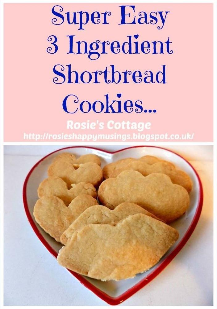 Super Easy Super Yummy 3 Ingredient Recipe For Scottish Shortbread Cookies