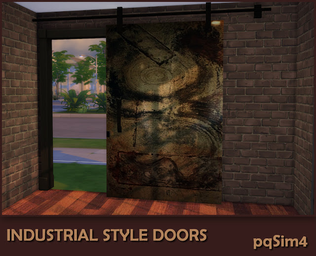Industrial Style Decor Doors. Puerta 4