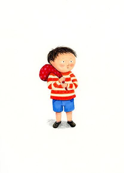boy illustration yara dutra