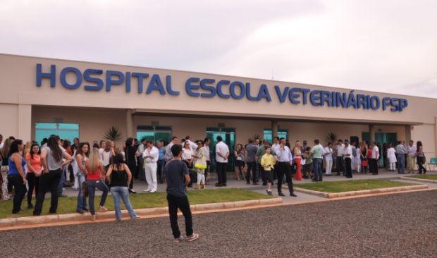 Hospital Veterinário FSP inicia agendamento ao público