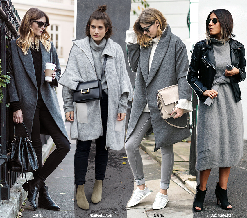 How To Style // All Grey Outfits