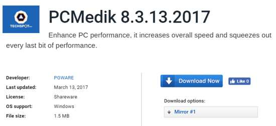 pc medik computer optimized software