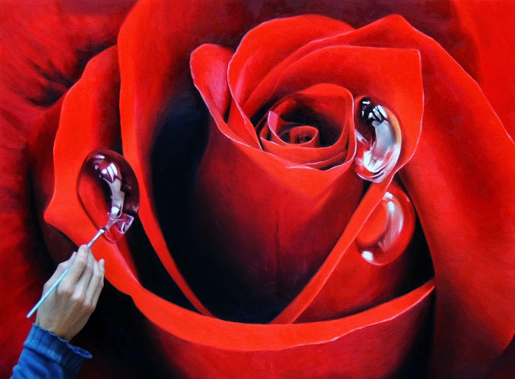 10-Red-Rose-Fabiano-Milani-Paintings-that-Look-Hyper-Real-www-designstack-co