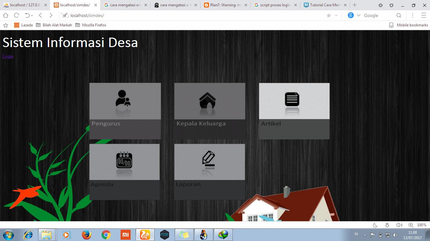 Download Source Code Aplikasi Sistem Informasi Desa Berbasis Web Script Rmasi Akademik Sekolah Sisfo Siakad Fitur Php Mysql