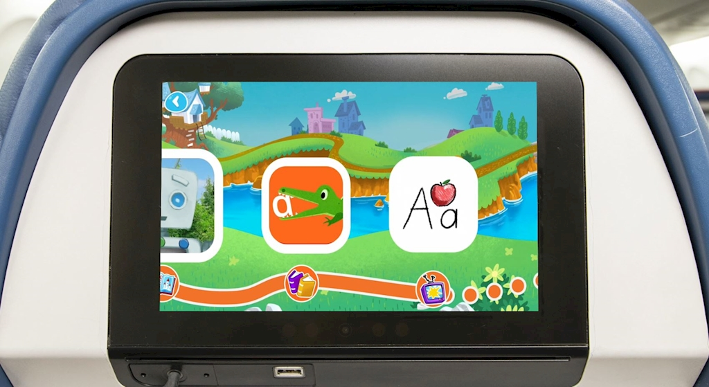 Delta oferece aplicativo a bordo para aprender a ler | É MAIS QUE VOAR