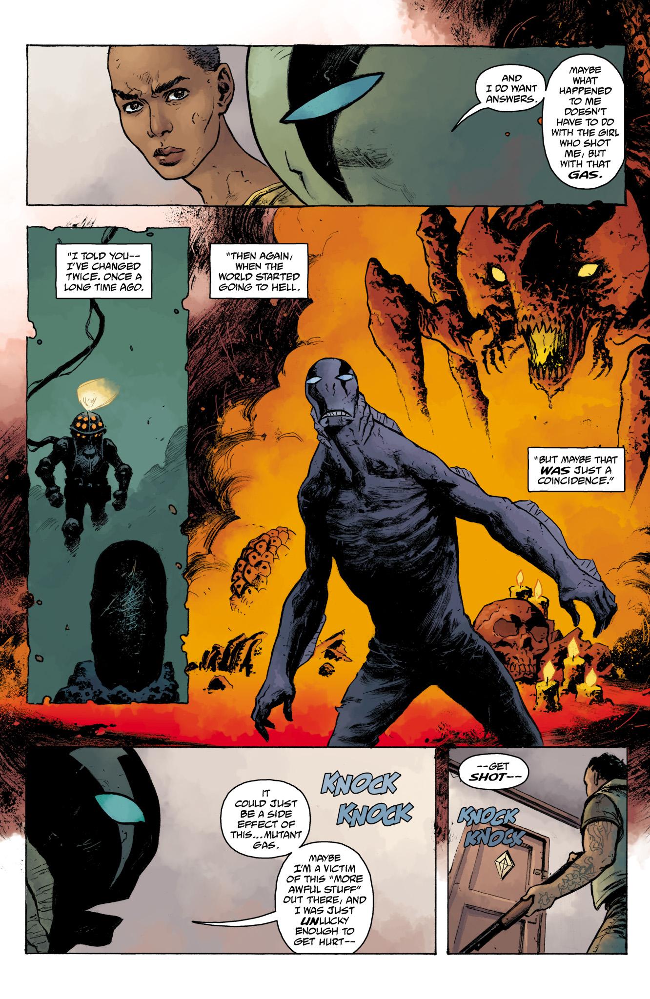 Read online Abe Sapien comic -  Issue #16 - 23