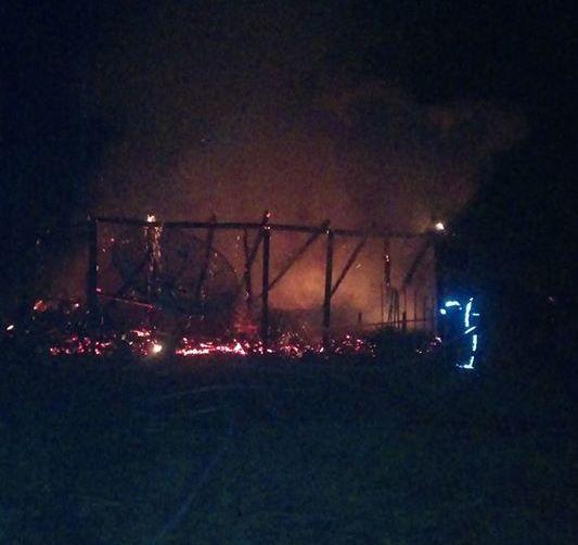 Incêndio em residência no município de Itaiópolis