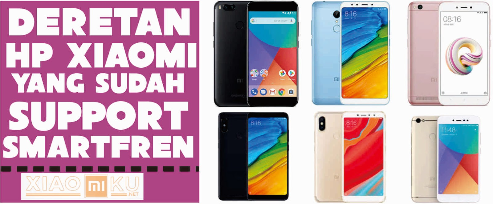 Daftar Deretan Hp Xiaomi Support 4g Smartfren Paling Update Miuiku