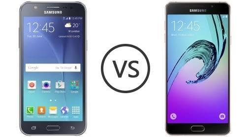 Galaxy J7 Prime e Galaxy A7 2016, qual vale mais a pena comprar?