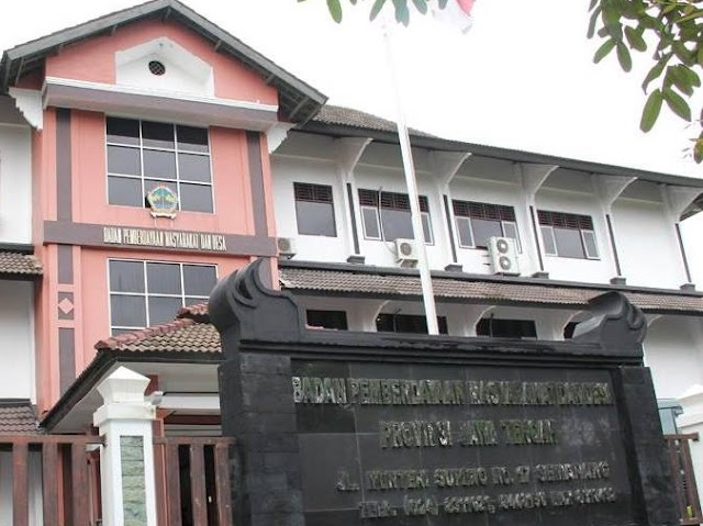 Kantor Bapermades Provinsi Jateng. (dok Bapermades)