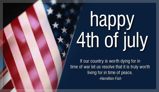 Happy 4th July 2017 SMS Greetings Wishes | Independence Day USA Cards