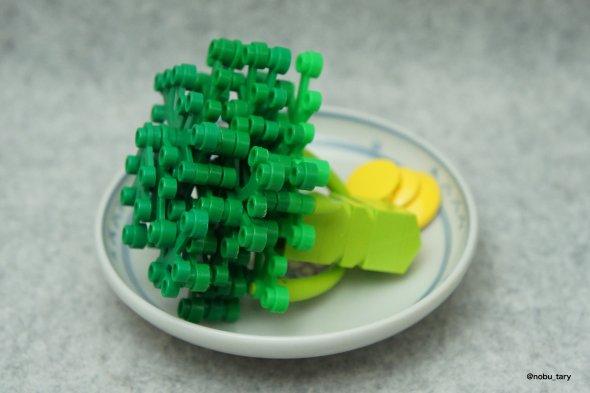 nobu_tary flickr esculturas de lego comidas brocolis