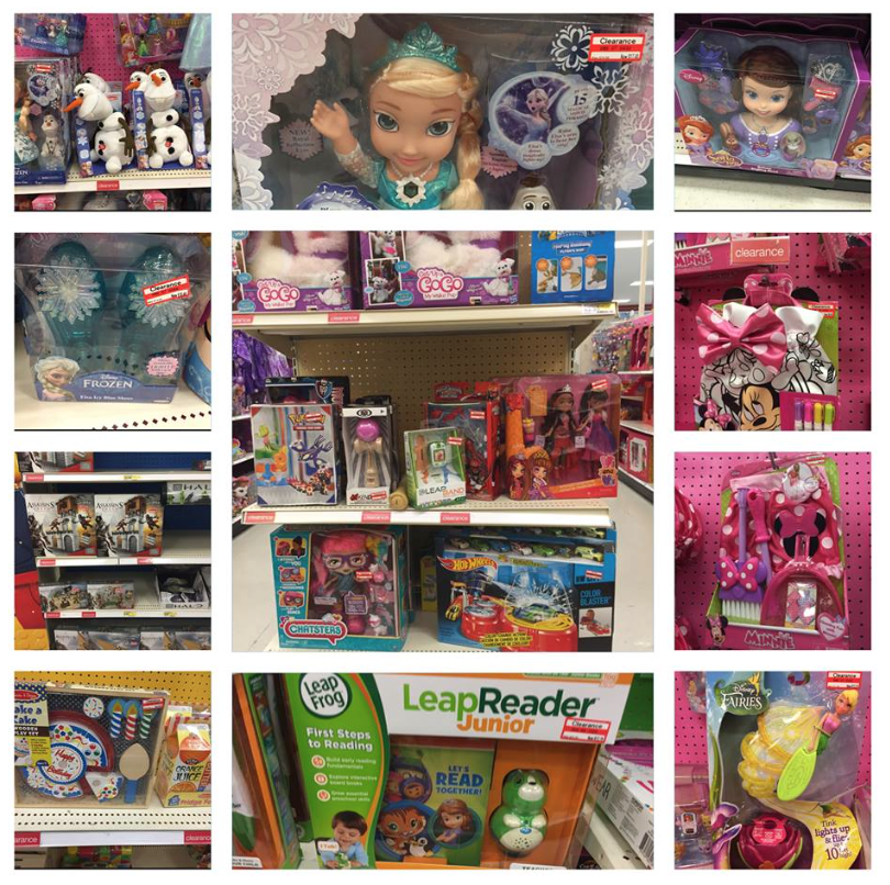 Arizona Families Target Toy Clearance July 2015