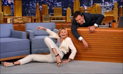Fotozhaby Cameron Diaz in The Tonight Show, Jimmy Fallon