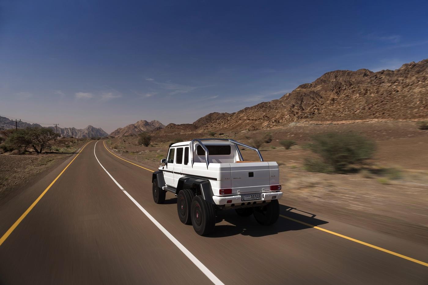 Mercedes G-Wagon 6x6 - cars & life blog   cars fashion ...