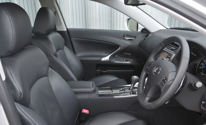 2011 Lexus IS 200d interior
