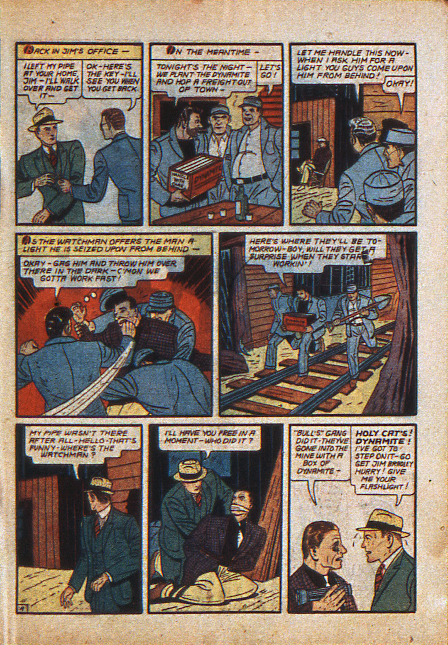 Read online Action Comics (1938) comic -  Issue #23 - 22