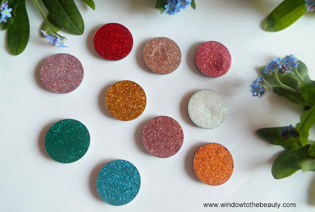 Pressed Glitters review