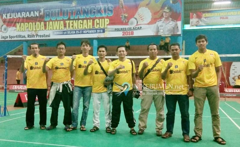 Tujuh Pebulutangkis Polres Kebumen Berlaga pada Kejuaraan Piala Kapolda Jateng 2018