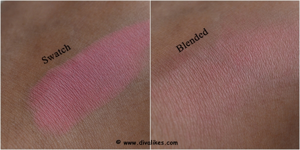 Maybelline Color Show Blush Fresh Coral Swatch