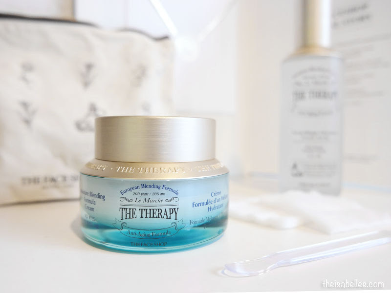 The Face Shop The Therapy Moisture Blending Cream