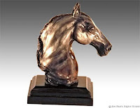 horse artworks, horse sculptures, equine art