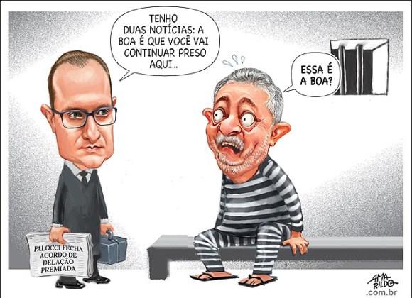 Corrupção capitaneada pelo LulaPreso provocou fuga de meio trilhão de dólares para o exterior