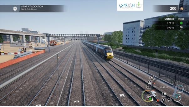 تحميل لعبة قيادة القطار الحقيقي مجانا للكمبيوتر والاندرويد برابط مباشر مضغوطة ميديا فاير download train simulator free