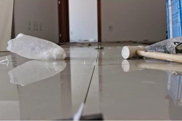 Utilizar nivelador de piso porcelanato