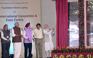 PM Narendra Modi lays foundation stone for IICC