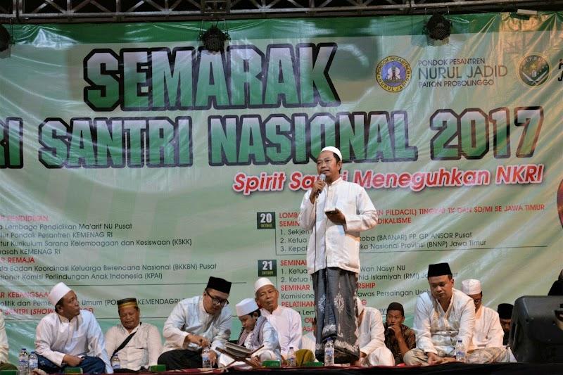 Kemeriahan Gelaran Peringatan Hari Santri 2017 di Pesantren Nurul Jadid, Paiton, Probolinggo