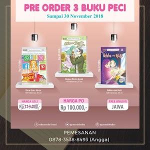 Pre Order 3 Buku Anak Terbaru PECI Indiva November 2018